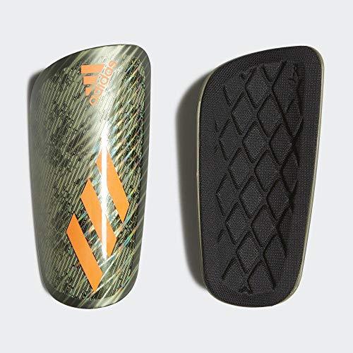 adidas X Pro Fútbol Espinilleras, Unisex Adulto, Verde(Legacy Green/Tent Green/Solar Orange), XS