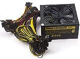 1800 W Modulares Mining-Netzteil für 8 GPU ETH Rig Ethereum Miner 110–240 V aktive PFC-Schaltstromquelle