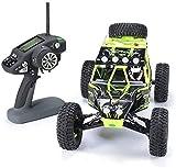 Regalos para niños juguete, En las cuatro ruedas juguetes de control remoto modelo de coche 01:12 2,4 GHz rastreadores grandes del neumático Camiones coche teledirigido eléctrico Coche campo batería d