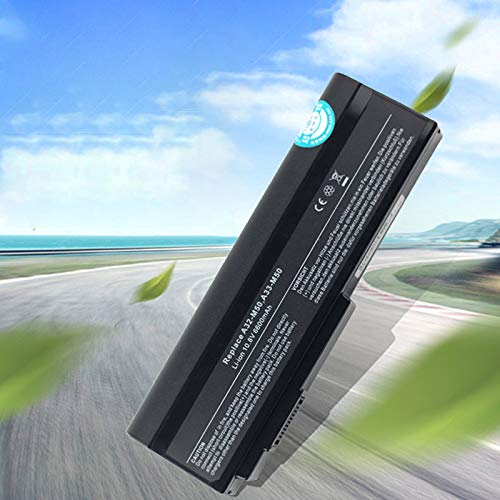 Redcolourful HSW - Batería para portátil ASUS N53S N53SV A32-M50 A32-N61 A32-X64 N53 M50s A33-M50 N61J N61D N61VG N61JA N61JV