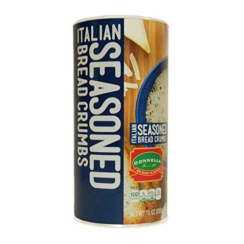 Gonnella Seasoned Italian Bread Crumbs, 10 oz