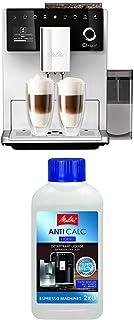Lot avec Melitta CI Touch, Machine à Café, Expresso et Boissons Chaudes Automatique, Argent, F630-101 et Melitta Détartran...
