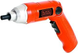BLACK+DECKER Parafusadeira com Encaixe de 1/4 Pol. (6,4mm) a Bateria Bivolt 3.6V 180 RPM 110V 9036