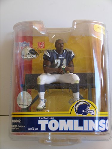 Lucky Yeh International, Ltd McFarlane NFL Series 16: LaDanian Tomlinson 4 - San Diego Chargers- Blue Jersey