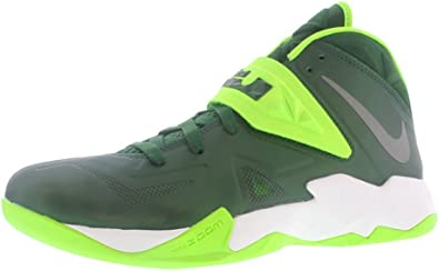 Amazon.com: Nike Zoom Soldier VII TB - Lebrons Green 11 : Clothing ...