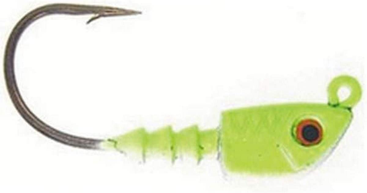 Bass Assassin Lures Jighead 1//8oz 18pk Lead//red Eye JA06101 for sale online