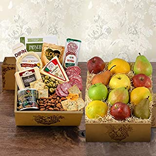 Fruit & Cheese Bonanza Gift Basket