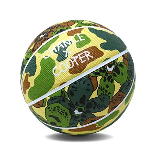 Buy Chance Artist Series Premium Rubber Outdoor/Indoor Basketball (7 Men's Official - 29.5, Wildflo...