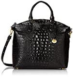 Brahmin Large Duxbury Satchel, Black, One Size