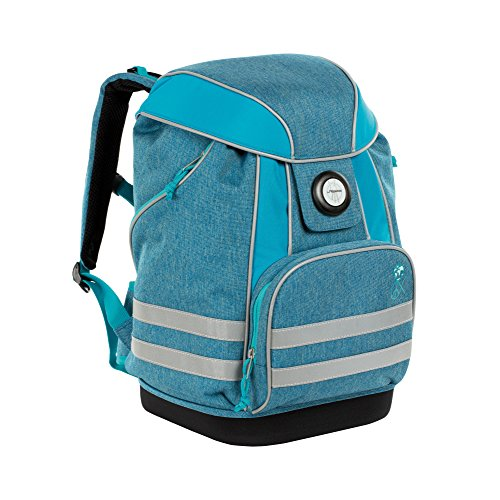 Lässig School Bag About Friends mélange Blue...