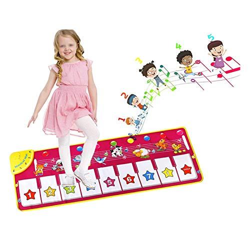 AAFF Kinder Klaviermatte, Musikmatte Spieldecke Tanzmatten Touch...