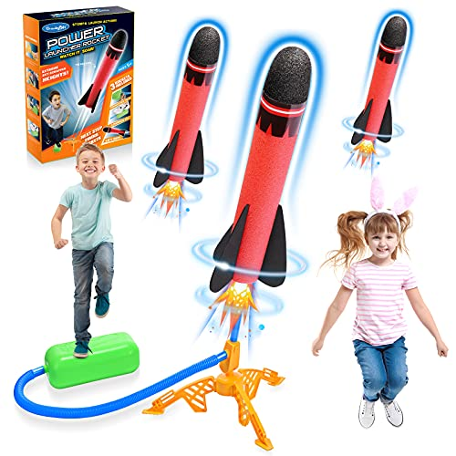 Stfitoh Outdoor Spielzeug ab 3 4 5 6 7 8 9 10 Jahre Junge,Rakete Spielzeug für Draußen Kinder Spielzeug Jungen Geschenk Junge 3-12 Jahre Spielzeug Mädchen Garten Spielzeug Spiele für Draußen