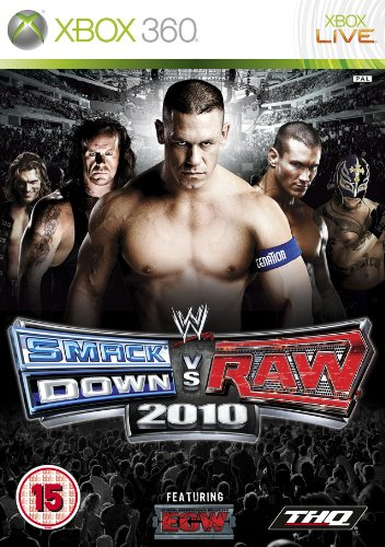 WWE Smackdown vs Raw 2010 [Importación francesa]
