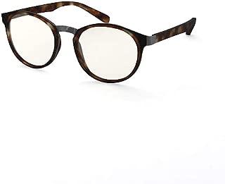 Blueberry OZY- Blue Light Trifocal Reading Glasses - Blue Light Blocking Glasses (Tortoise, Power +2.5)