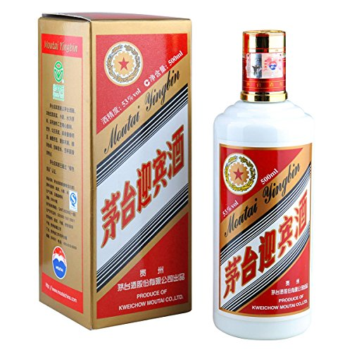[ 500ml ] MOUTAI YINGBIN 53% Vol. Weinbrand aus China/Brandy/Maotai/Mautai