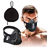 FaroDor Training Mask Oxygen Sport Fitness Mask 24 Breathing Resistance Levels and Imitate Workout at High Altitudes for Gym, Cardio, Fitness, Running, Endurance and HIIT Training