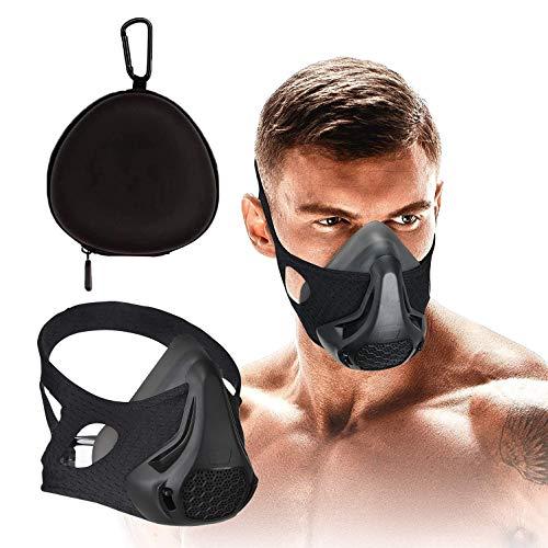 Máscara de treinamento FaroDor Oxygen Sport Fitness Máscara 24 níveis de resistência à respiração e treino de imitação em altas altitudes para academia, cardio, fitness, corrida, resistência e treinamento HIIT, B-Include handbag
