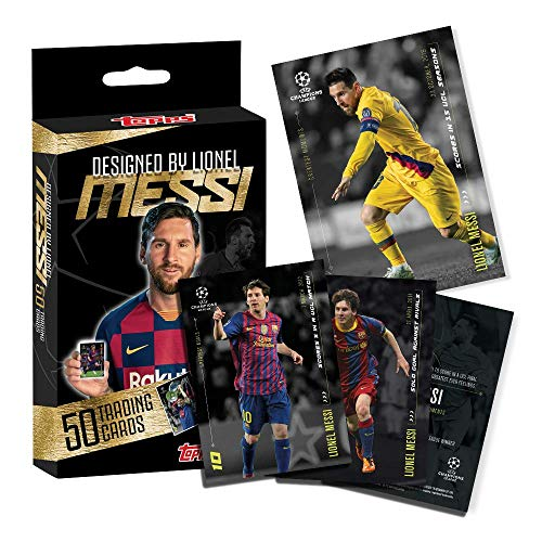 Topps - Lionel Messi CURATED Set - Exclusive Trading Cards Designed by The Legendary Player…