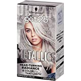 Best Box Hair Colors - Got2b Metallic Permanent Hair Color, M71 Metallic Silver Review