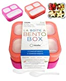 Bento Box for Kids, Toddler Lunch-Box for Small Boys Girls in School, Pre-School or Daycare,...