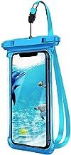 Telefoon Tassen & Cases Waterdichte Telefoon Case Floatable Onderwater Telefoon Pouch Droge Tas met Lanyard Blauw