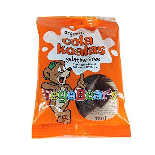 Organic Vegan Gummy Bears Cola Koalas - 100 grams