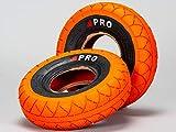 Rocker BMX Street Pro Neumáticos - Naranja/Blackwall con tubos gratis