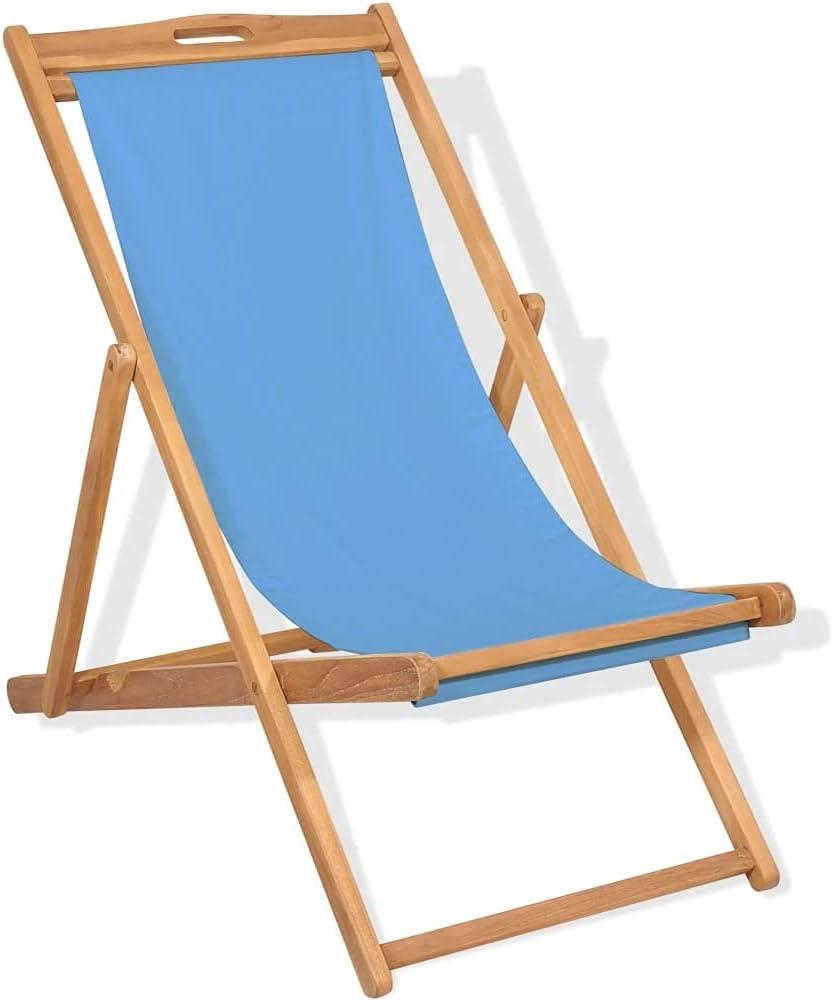 vidaXL Solid Teak Wood Deck Sturdy Durable Easy-to-use Chair Soldering Garden Outdoor