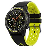 Pro Smart Watch, pantalla táctil, reloj deportivo con GPS, modos deportivos 5 ATM impermeable, reloj de fitness con ritmo...