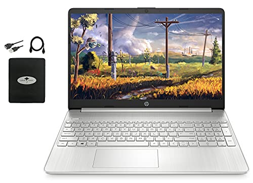 HP 15.6' FHD Laptop for Business & Student, AMD Athlon...