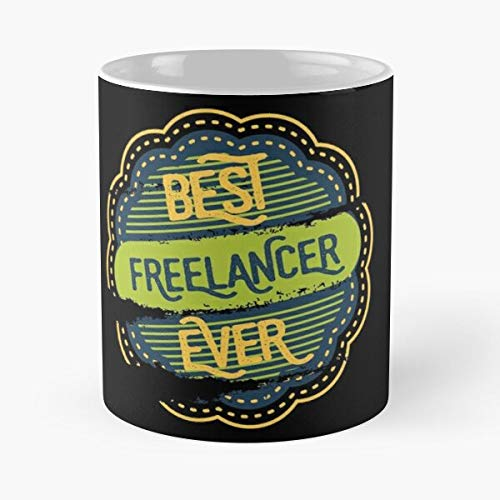 Best Freelancer - Classic Mug Keramik Coffee White (11 Ounce) Tee Cup Nursing Appreciation Gifts For Nurse Practitioner-hinpeste