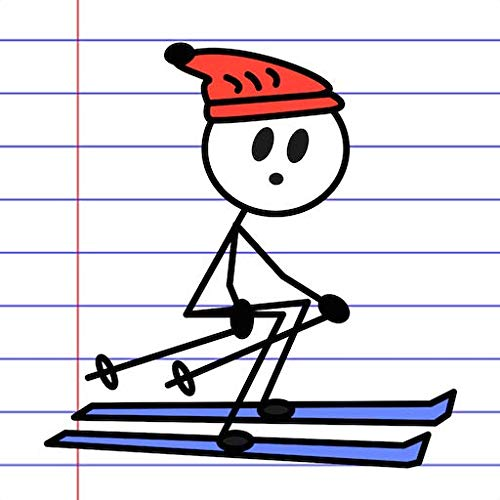 Stick Man Sports - Ski Games