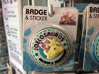 Joel–Dinosaurus personnalisé Nom badge