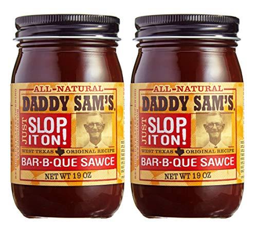 Daddy Sam's BBQ Sauce Gluten Free (Original Sauce, 2 Jars)