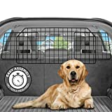 Pawple Dog Car Barrier for SUV's, Cars & Vehicles, Trucks, Adjustable Large Pet Barrier, Heavy-Duty Wire Mesh- Universal...
