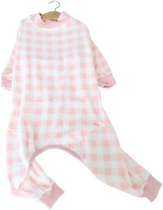 HdwkHped Soft Houston Mall Cotton Medium Large Air-Co Summer Max 45% OFF Dog Pajamas for