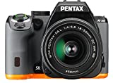 Pentax K-S2 Spiegelreflexkamera (20 Megapixel, 7,6 cm (3 Zoll) LCD-Display, Full-HD-Video, Wi-Fi, GPS, NFC, HDMI, USB 2.0) Kit inkl. 18-50mm WR-Objektiv schwarz/orange