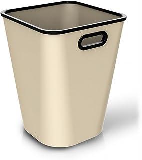 Poubelle à la maison Boîtes à ordures intérieures simples Boîte de rangement en plastique 16L Poubelle Cuisine Poubelle de...