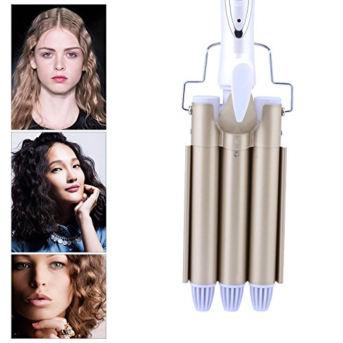 Shuangklei Toermaline keramiek haar krulstaaf grote waver krultang Magic Professional Hair Krullen Salon Hair Styling Tool