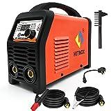 HITBOX 110/220V MMA Welder, 200A ARC Welding Machine with Lift Tig Function, IGBT Digital Smart VRD Hot Start Welder fits Below 4.0 mm Welding rods