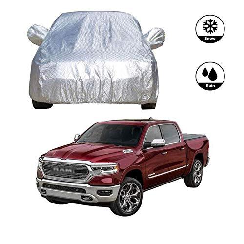 LXYPLM Autoabdeckung Vollgarage Autoabdeckungen Pick-up Car Cover - wasserdichte Limousine Mantel verdickte Oxford Cloth Staubdichtes Sunproof Allwetterschutz mit Reflective 2611 (Size : Dodge Ram)