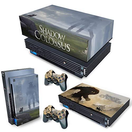 Capa Anti Poeira e Skin para PS2 Fat - Shadow Colossus
