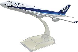 ANA 全日空 模型 ジャンボ機 飛行機 おもちゃ 1/400 Boeing ボーイング 747-300 ダイキャスト製 完成品 [並行輸入品]
