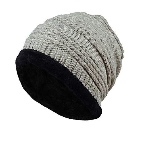 VRTUR Unisex Knit Cap Warm portlich Elegantes Outdoor Fashion Head Hat Strick Mütze Hedging Cap