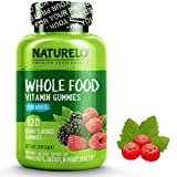 NATURELO Whole Food Vitamin Gummies for Adults - Chewable Gummy Multivitamin for Men & Women - New & Improved Flavor - 120 Vegan Gummies