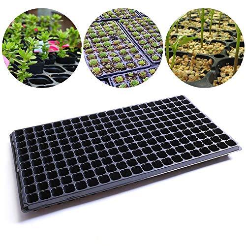 N/Z Sämling Starter Trays 200 Anzuchttöpfe, Pflanzschalen Garten Samen Starter wachsen Tabletts Gartenkeimungstabletts, für Gewächshaus, Hydrokultur, Sämlinge, Pflanzenkeimung