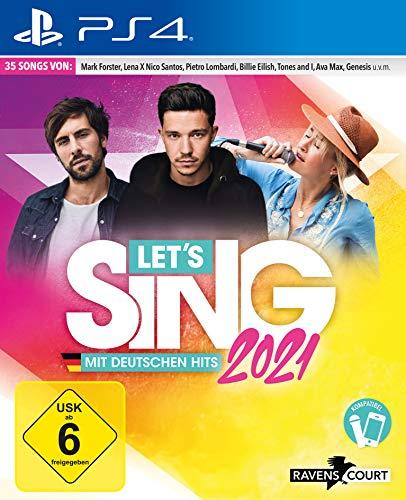 Let\'s Sing 2021 mit deutschen Hits (Playstation 4)
