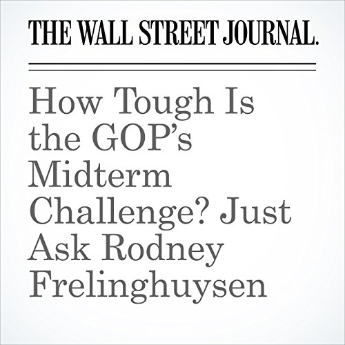 How Tough Is the GOP's Midterm Challenge? Just Ask Rodney Frelinghuysen copertina