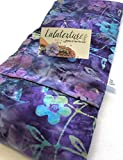 Large or X Large microwavable flax heating pad, Made in USA, The'Flax Sak' Hot/cold pack with removable/washable cover.