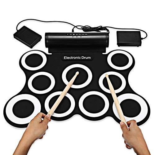 Tambor portátil, Equipo de batería eléctrica digital - Instrumento Práctica electrónico portátil...